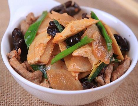 冬笋炒肉片如何做好吃?