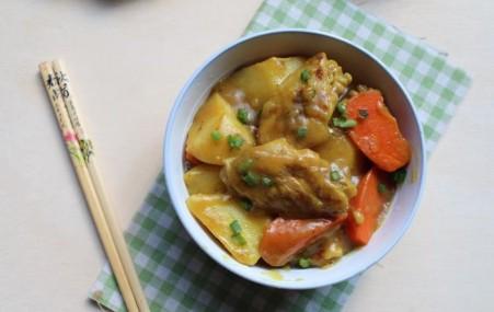 下饭好菜――咖喱鸡翅