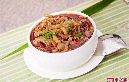 羊杂蘑菇汤