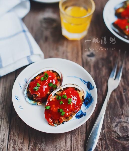 鲜美无比的茄汁鲍鱼