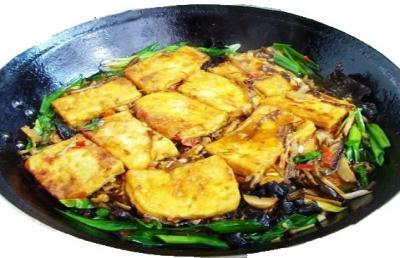 鲍鱼焖豆腐
