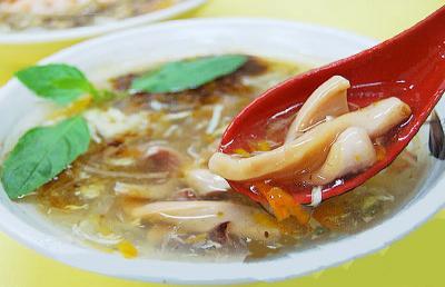 竹笋鱿鱼汤