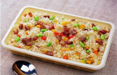 过年的小主食――腊肉蛋炒饭(图文)