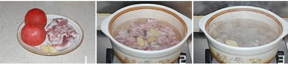 番茄排骨汤怎么做好吃,番茄排骨汤的做法的做法步骤1