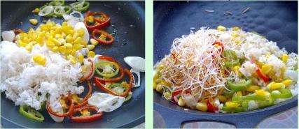 玉米粒炒饭的做法的做法步骤3