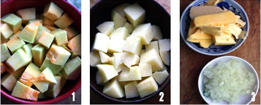 早餐的必需品――奶油南瓜浓汤的做法步骤1