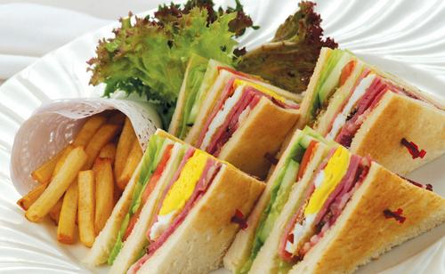 自制儿童三明治的做法