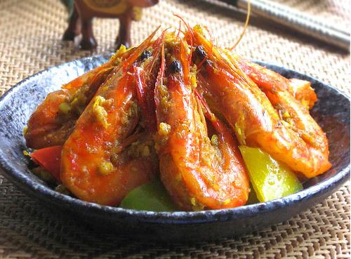 泰式咖喱海虾