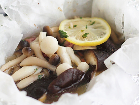 原汁原味的――烤什锦蘑菇