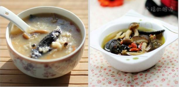 快手菜――乌鸡蘑菇粥