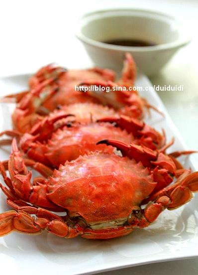 清蒸螃蟹怎么做好吃,清蒸螃蟹的制作步骤
