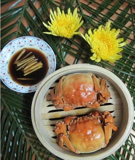 好菜配好蟹――清蒸大闸蟹[有图]