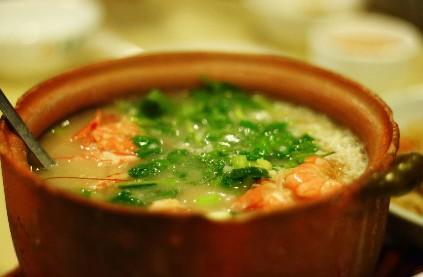 糯米砂锅粥
