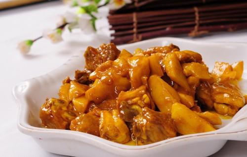酸甜的咖喱鸡块制作方法