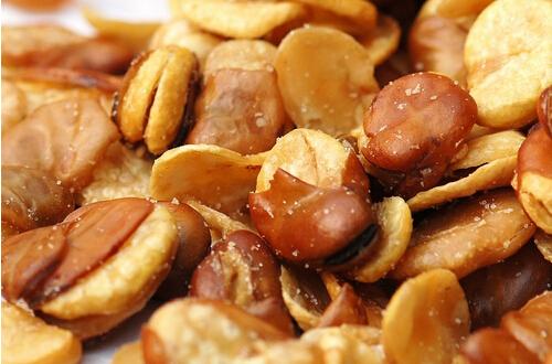 天然的味道――香辣炒蚕豆