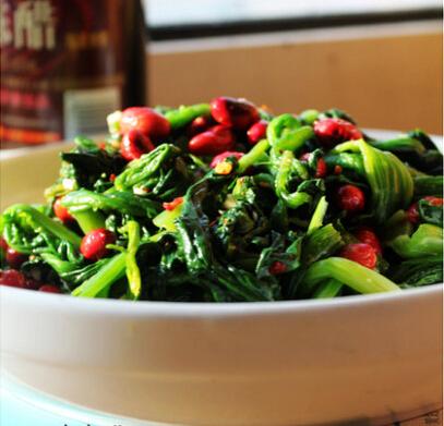 果仁菠菜的做法,果仁菠菜怎么做好吃