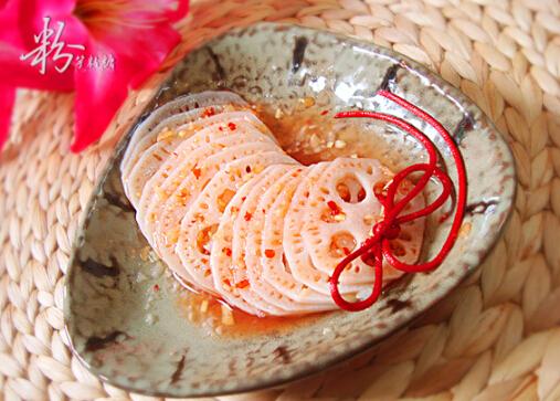 凉拌莲藕的做法[有图]