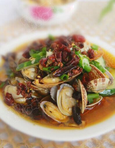 香辣炒花蛤的做法