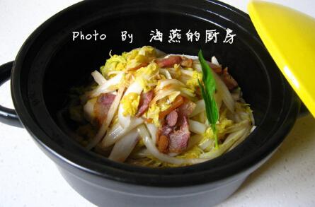 干锅烧腊肉的做法[有图]