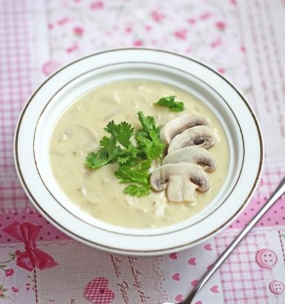 奶油蘑菇汤的做法,奶油蘑菇汤怎么做好吃