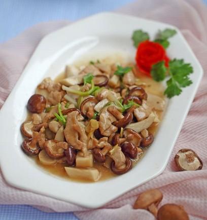 香菇炒肉的做法,香菇炒肉怎么做好吃