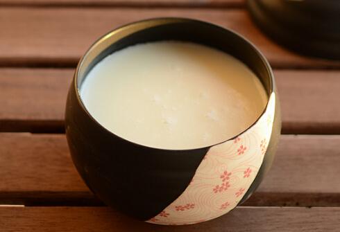杏仁糯米粥的做法