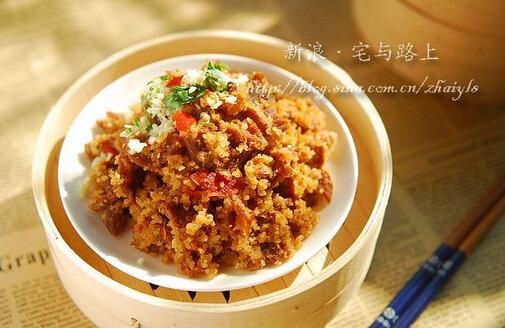 糯米蒸牛肉的做法(图文)