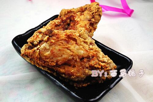 蚝油香酥鸡翅的做法