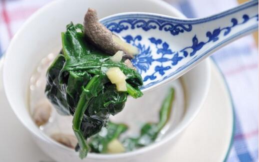 生姜菠菜猪肝汤的做法,生姜菠菜猪肝汤如何做好吃