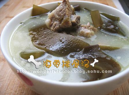 海带排骨汤的做法,海带排骨汤如何做(图文)
