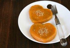 地瓜糯米芝麻饼